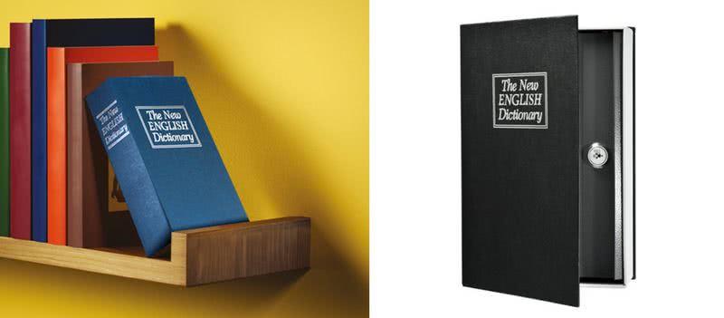 Речник-сейф от стомана