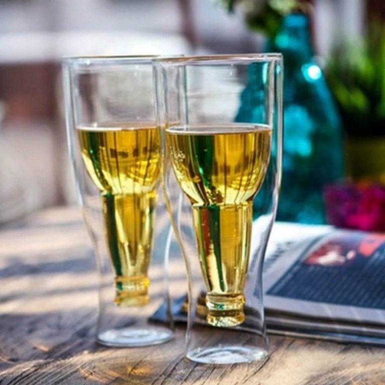 Комплект Чаши за Бира - Обърната Бутилка