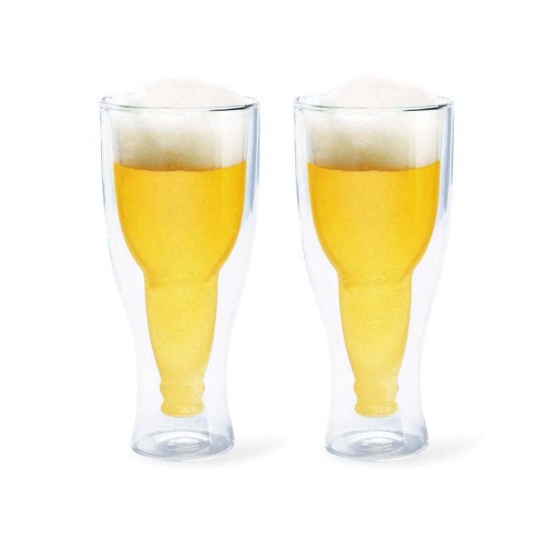 Чаши за Бира - Обърната Бутилка - Пълни