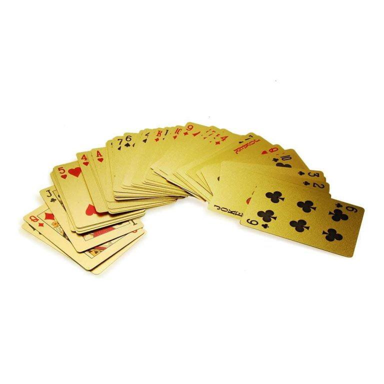 Позлатено Тесте Карти за Игра