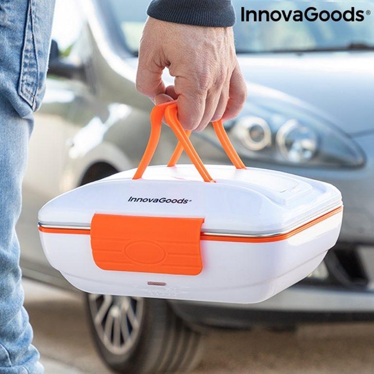 Електрическа Кутия за Обяд за Автомобил - с Дръжки