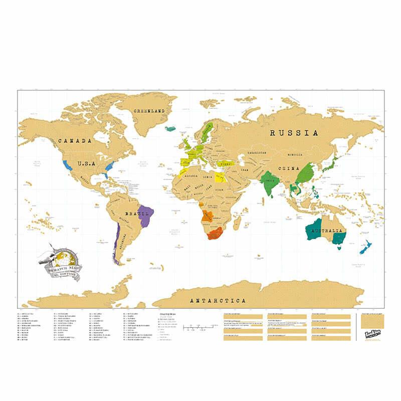 Svetovna Karta Za Iztrivane Xl Dreboliiki Com
