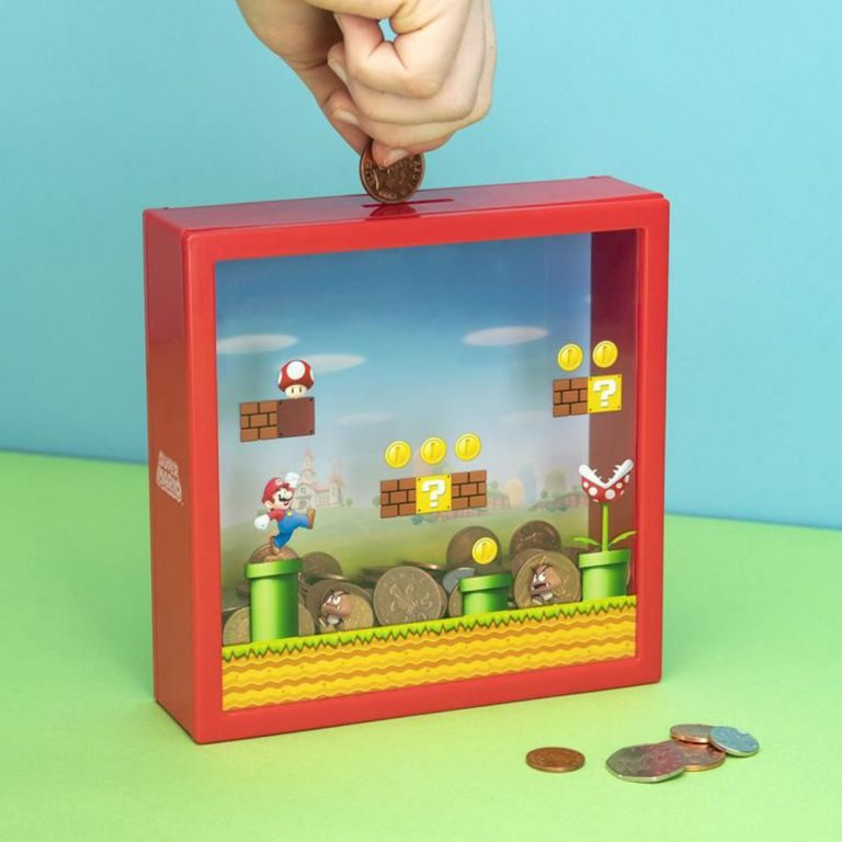 Детска касичка за пари - Super Mario