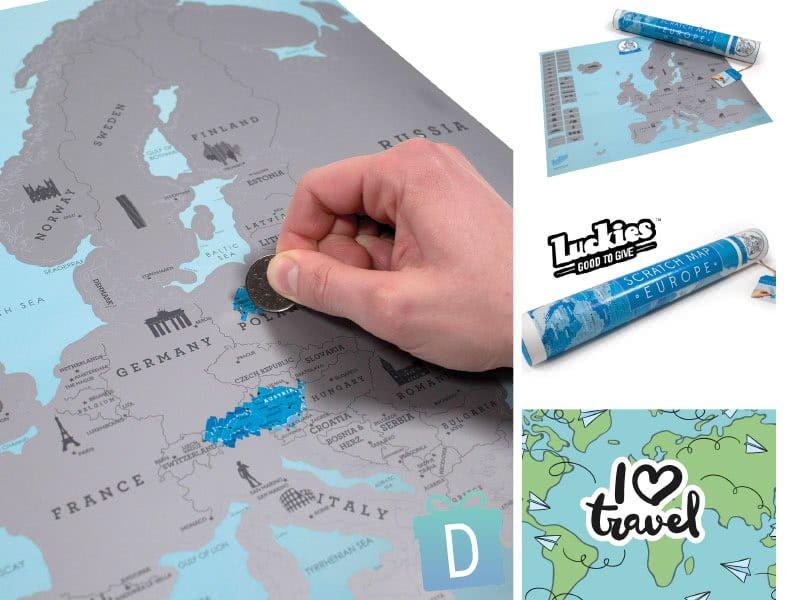 Скреч Карта Европа - Luckies of London