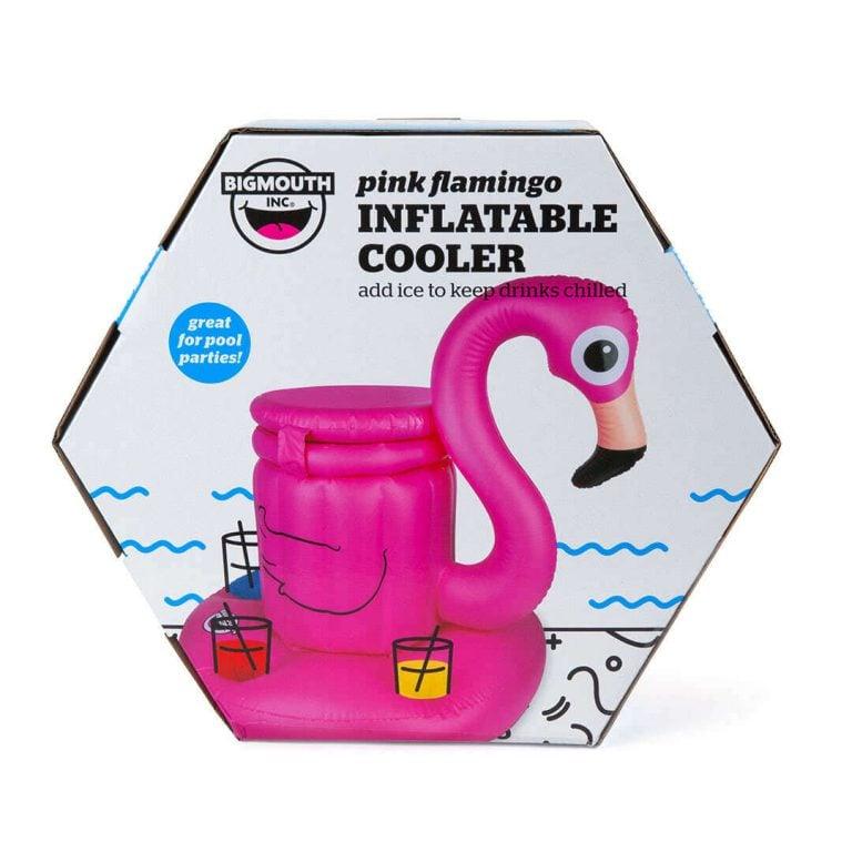 Надуваем Воден Бар за Басейн Фламинго в Кутия