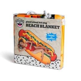 Плажна Кърпа - Хот Дог в Торба за Плаж