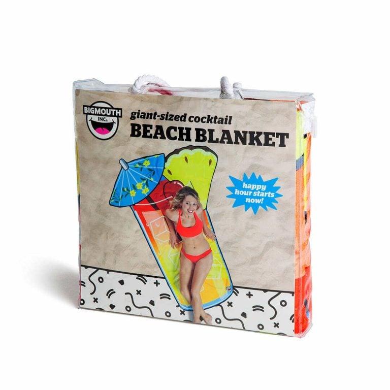 Плажна Кърпа - Коктейл в Торба за Плаж