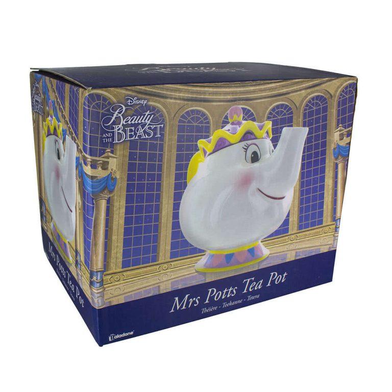 Чайник Мис Потс от Красавицата и Звяра в Кутия
