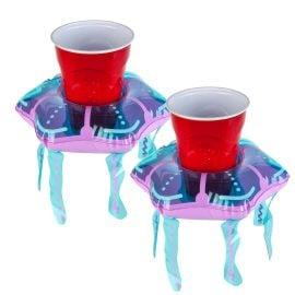 Надуваеми Пояси за Напитки Медузи
