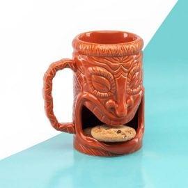 Чаша за кафе с бисквитка - Тики