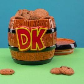 Керамична Кутия за Биксвитки - Donkey Kong Пълен с Бисквити