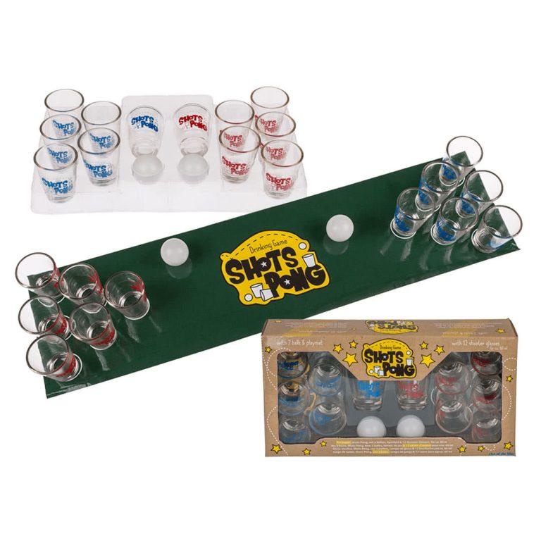 Всички аксесоари за парти игра с шотове - Shots Pong