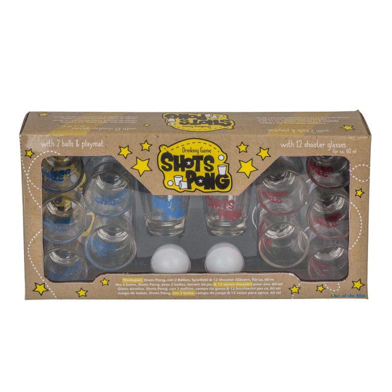 Парти игра с шотове - Shots Pong в Кутия