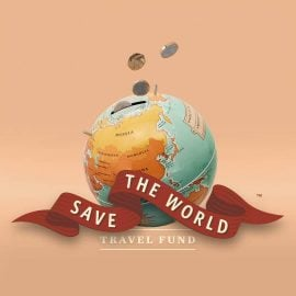 Касичка с Монети - Глобус Save the World
