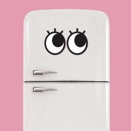 Магнитни Очички с Мигли на Хладилник