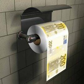 Тоалетна Хартия - 200 Евро на Стойка