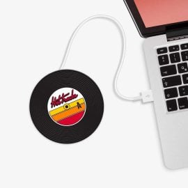 USB Нагревател за Кафе - Грамофонна Плоча