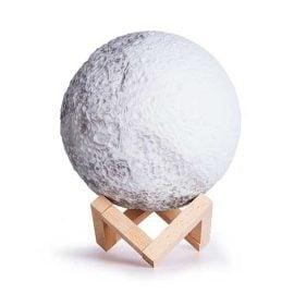 Нощна Лампа с Дистанционно - Луна