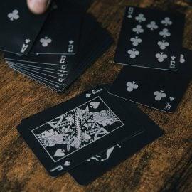 Сребърни Луксозни Карти за Игра