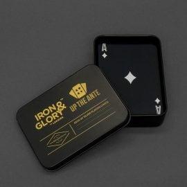Луксозни Карти за Игра с Отворена Кутийка - Сребърни