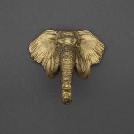 Поставка за Ключове за Стена - Слон