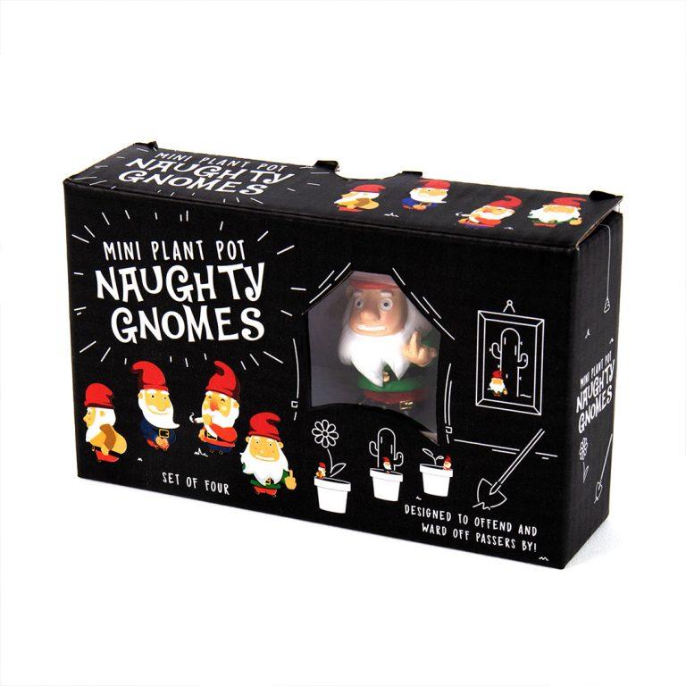 Декорация за Саксии – Naughty Gnomes в Кутия