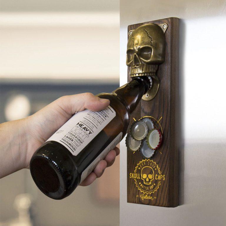 Магнитна Отварачка за Хладилник - Череп