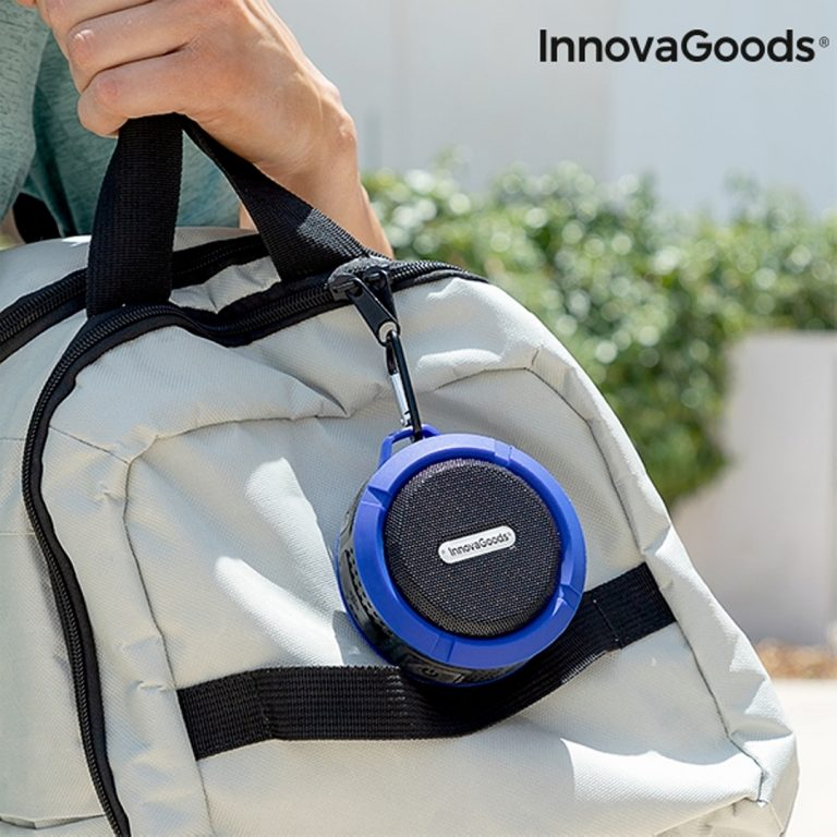 Водоустойчива Bluetooth Тонколонка с Карабинер