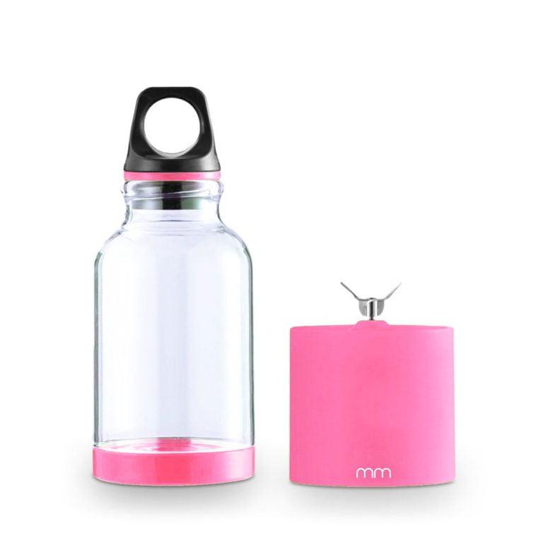 Портативна Блендер Бутилка - Розов Цвят